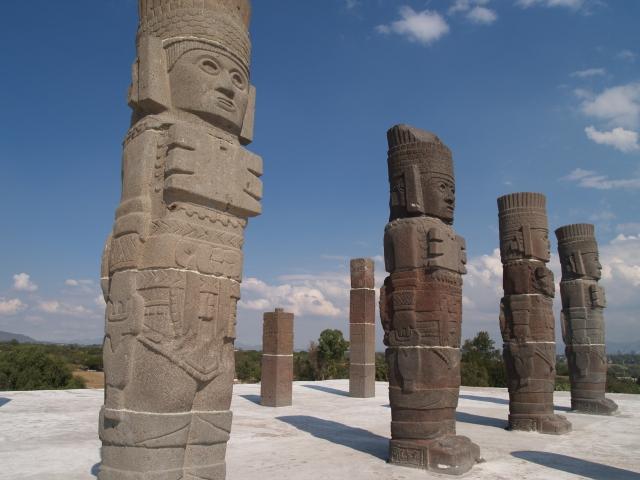 De krijgers van Tula de Allende