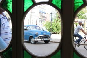 Een kijkje door het raam